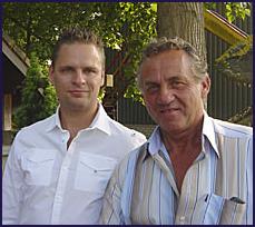 Walter en Martijn van der Pol