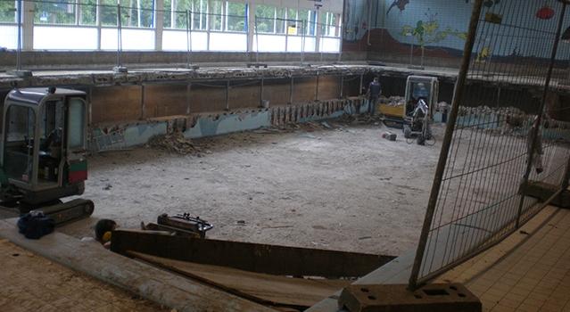 Renovatie zwembad De Fakkel Ridderkerk